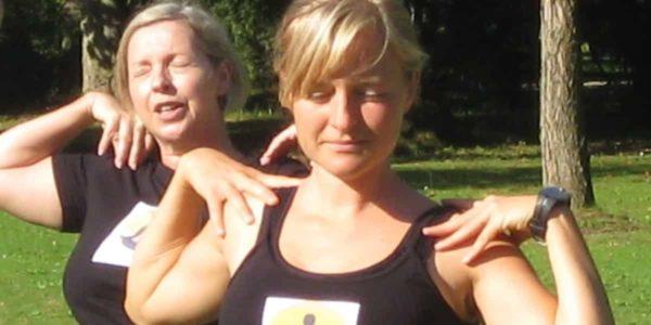 Yoga im Park 2